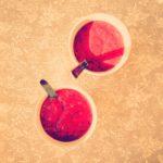 Batido de frutos rojos