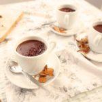 Chocolate a la taza de algarroba