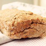 Pan sin gluten de trigo sarraceno y semillas