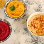 Hummus tradicional y variantes